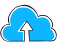 Cloud icon with an upload arrow