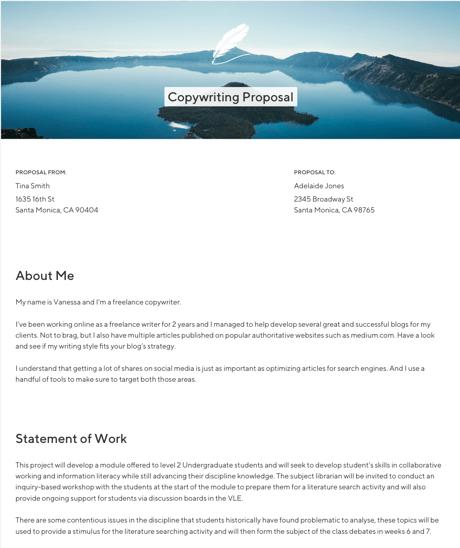 screenshot of tispr's proposal tool