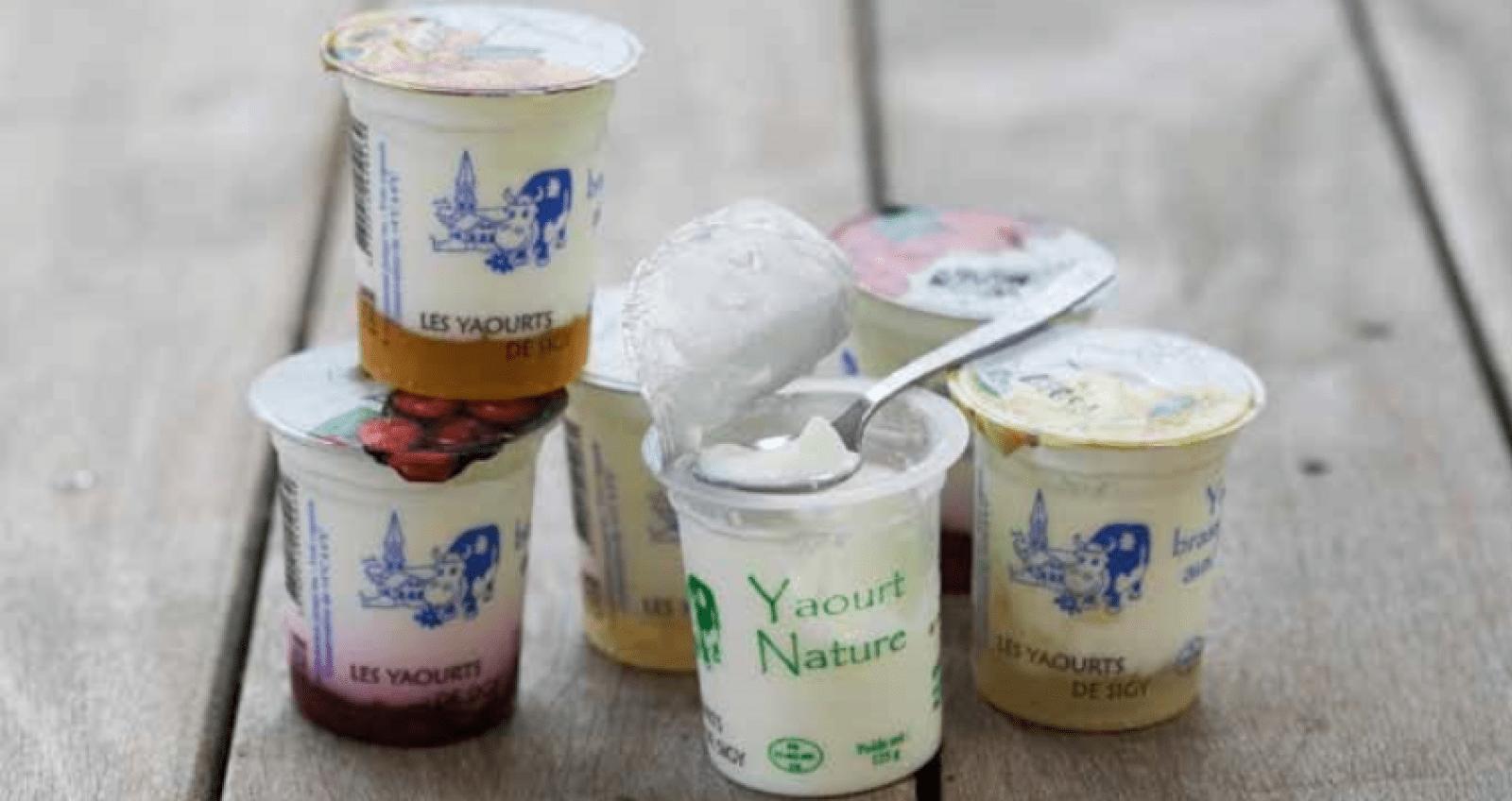 pots de yaourt
