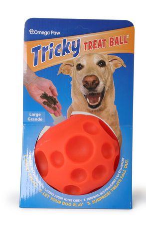 Omega Paw Tricky Treat Ball - Large | Walmart Canada