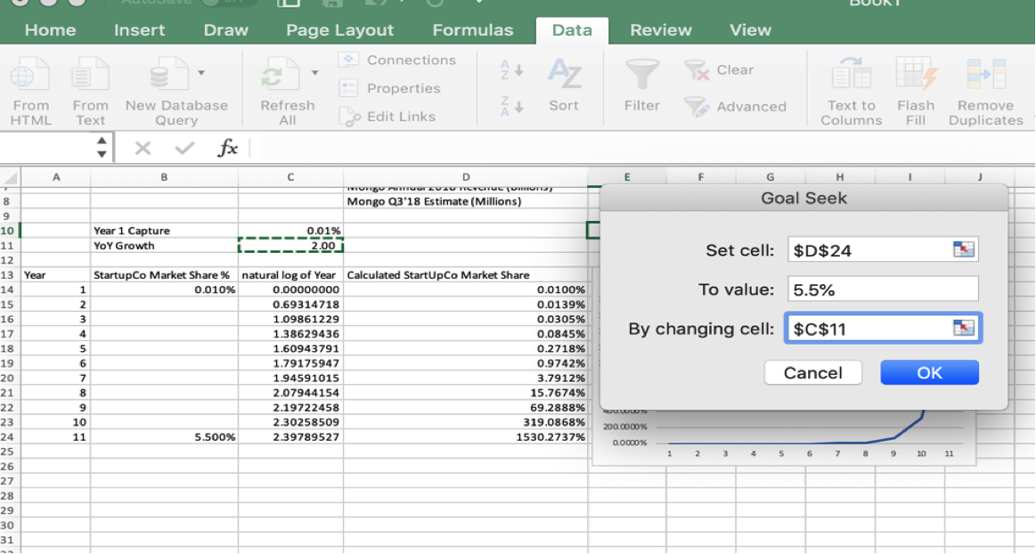 Startup Financial Modeling Excel Photo 3