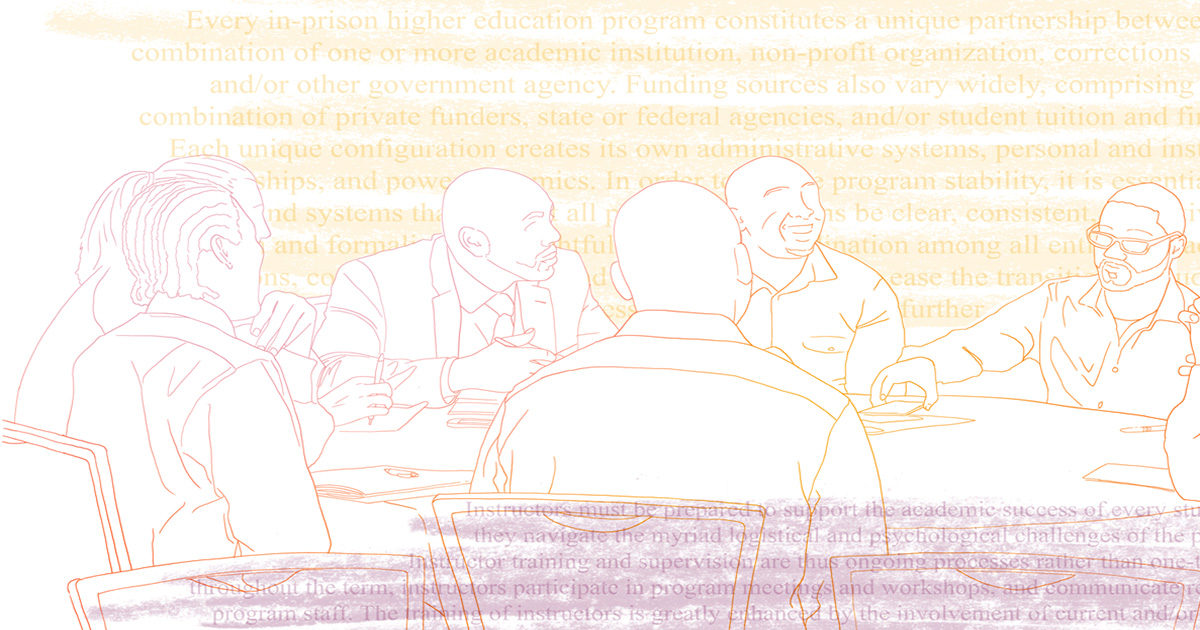 Community Conversation: Access, Quality & Technology in Higher Education in Prison