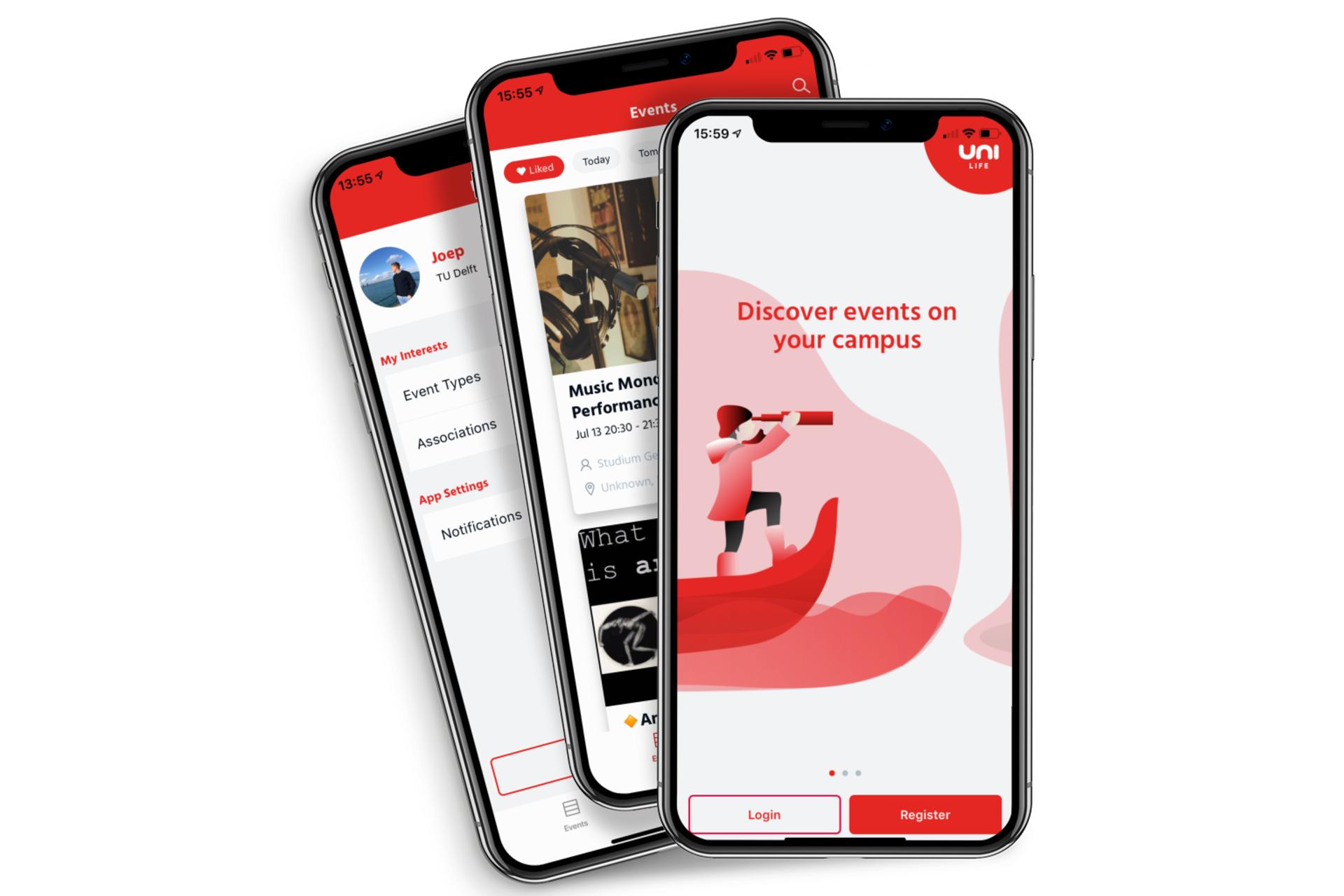 Die Uni-Life Handy-App