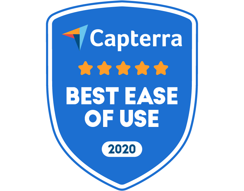 Tovuti Capterra Best Ease of Use 2020