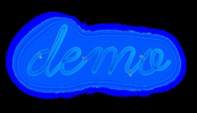 Demo sign