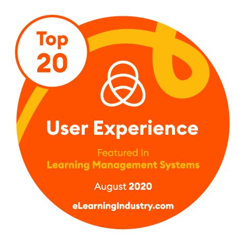 Top 20 User Experience badge