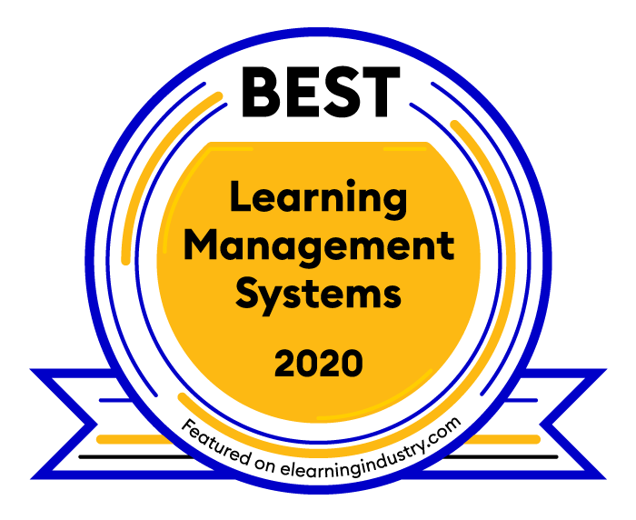BEST Learning Management Systems 2020 badge