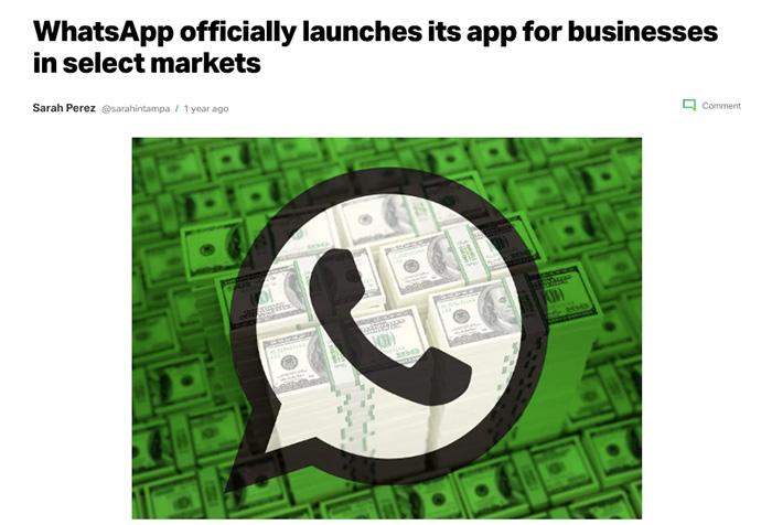 whatsapp-business-feature-release-techcrunch