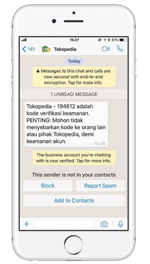 whatsapp corporativo para marketing HSM