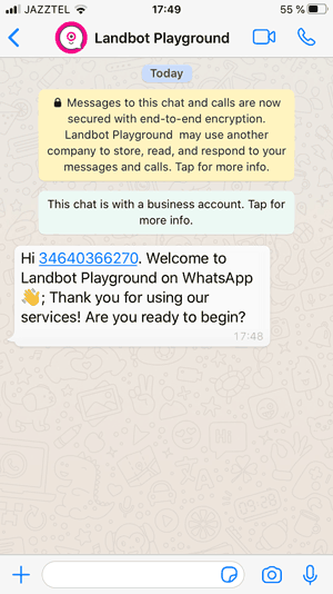 whatsapp-bot-testing-channel
