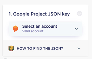 Landbot-dialogflow-intergration-JSON-key