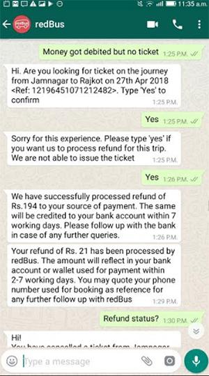 red-bus-whatsapp-quejas-trato