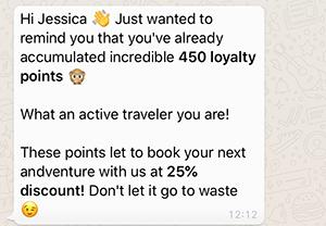 whatsapp-viajes-sector-programas-fidelizacion