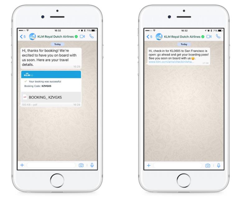 KLM-chat-whatsapp-bots-generacion-demanda