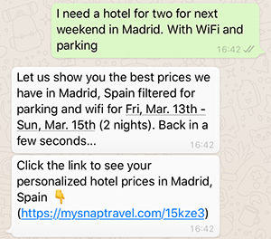 whatsapp-AI-NLP-chatbot-example-snaptravel
