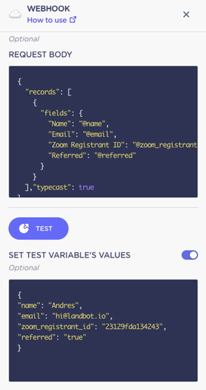 airtable-request-body-and-test-values