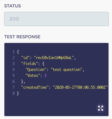 airtable-webhook-testear-respuesta