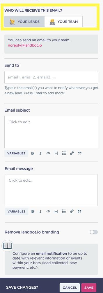 send-email-alert-chatbot-human-handoff