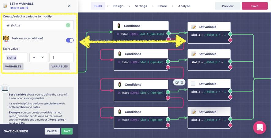 reservation-chatbot-set-a-variable-calculation