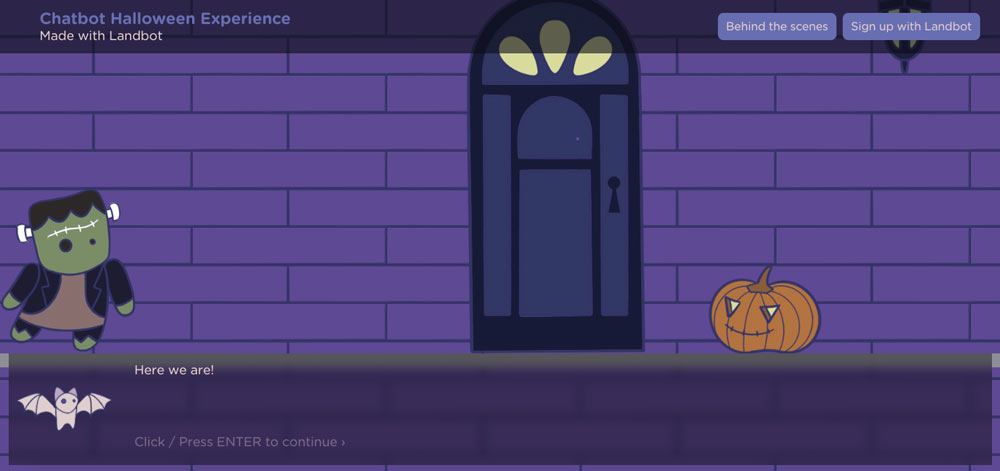 chatbot-halloween-experience