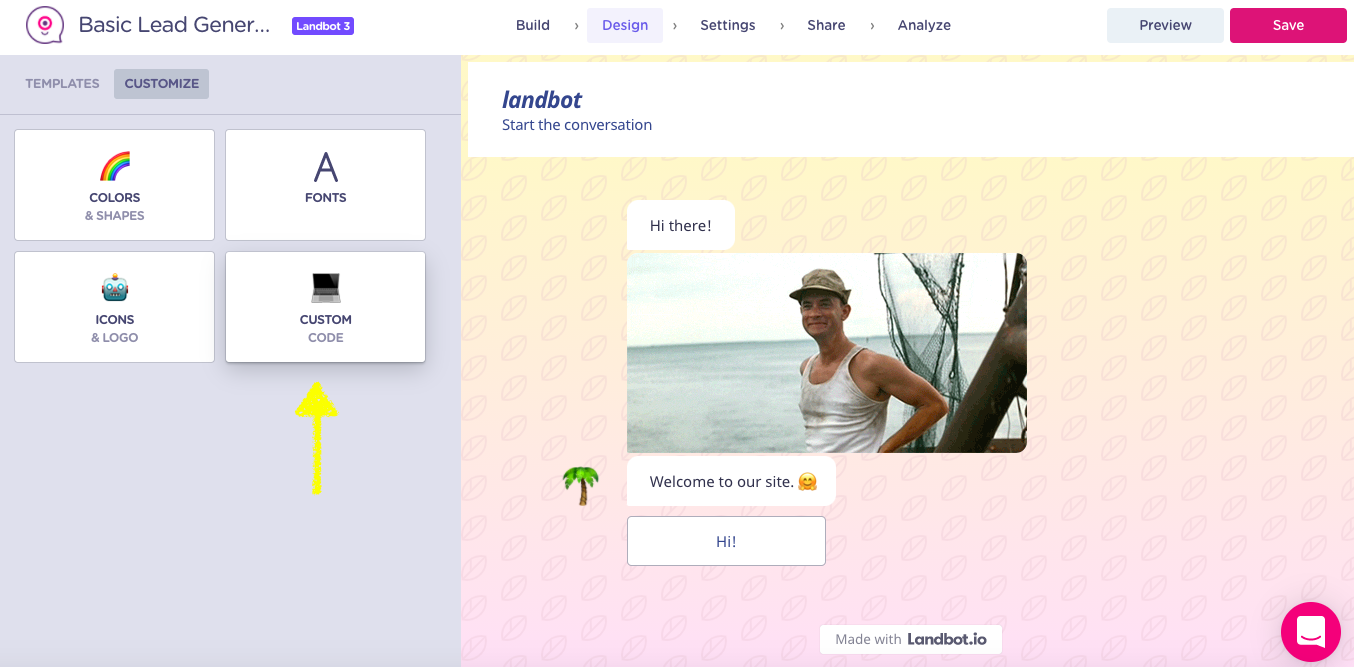 online form design