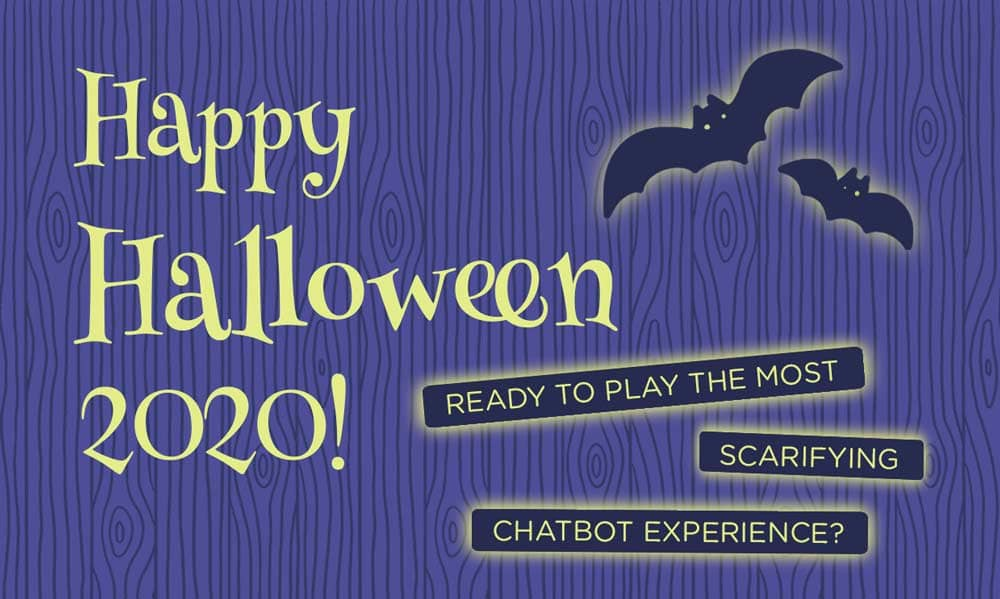 halloween chatbot experience
