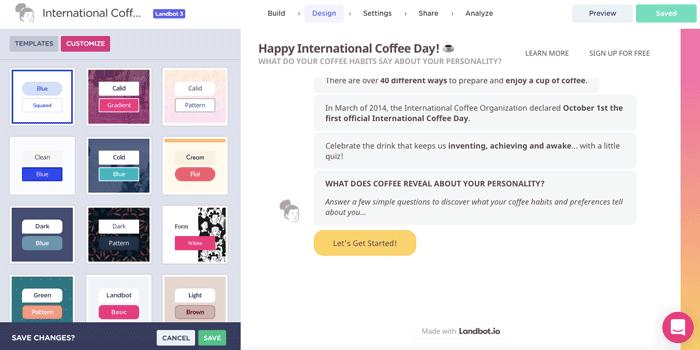 quiz-campaign-design-templates