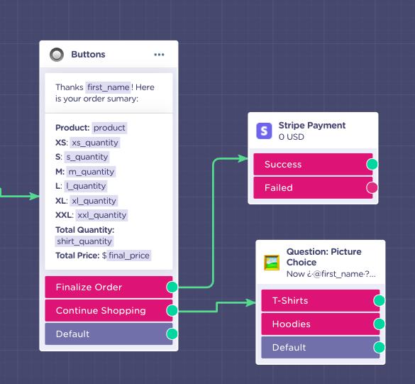 order form payment processor