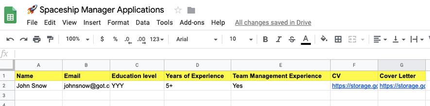 GoogleSheet-intergration-recruitment-bot