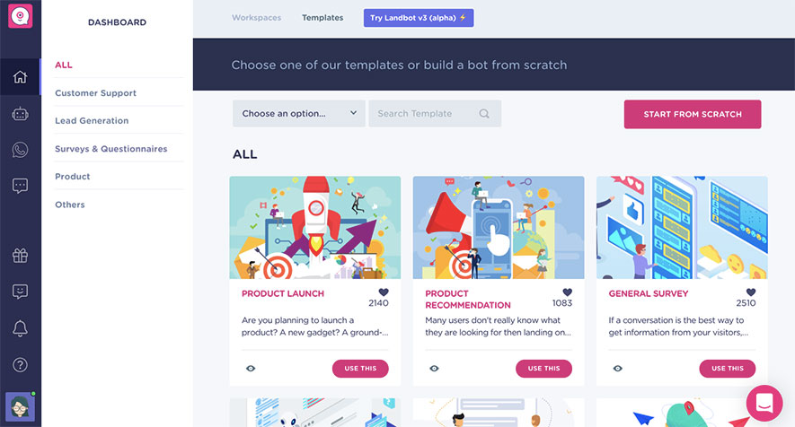 Product-chatbot-template