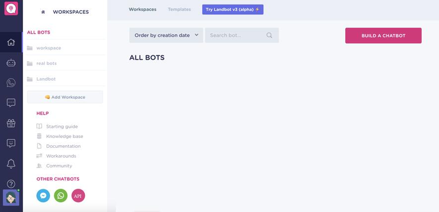 landbot-dahsboard