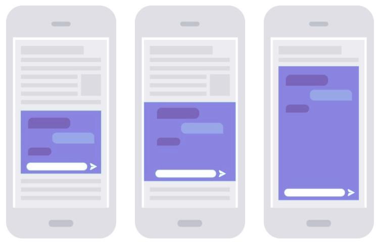 chatbot banner ads formats