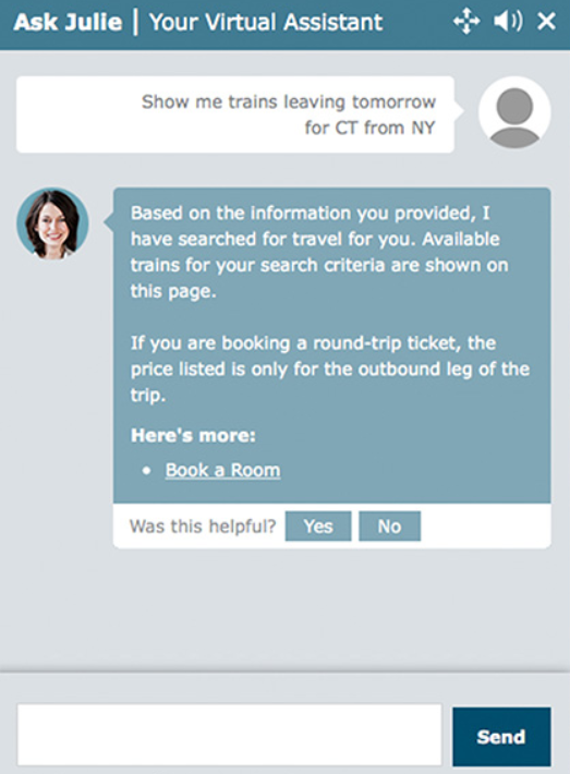 chatbot example email marketing tips