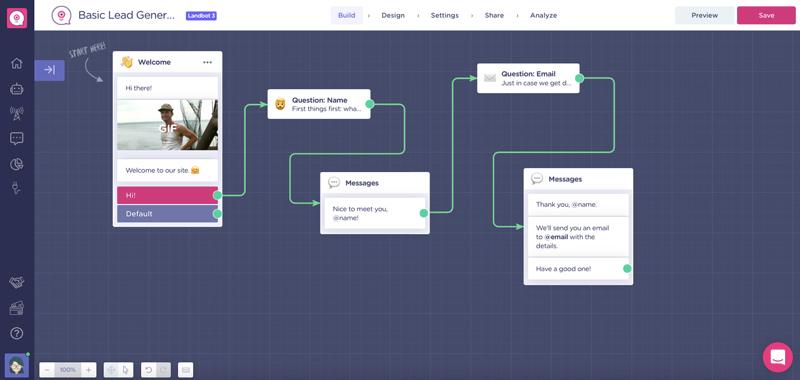 landbot-chatbot-builder
