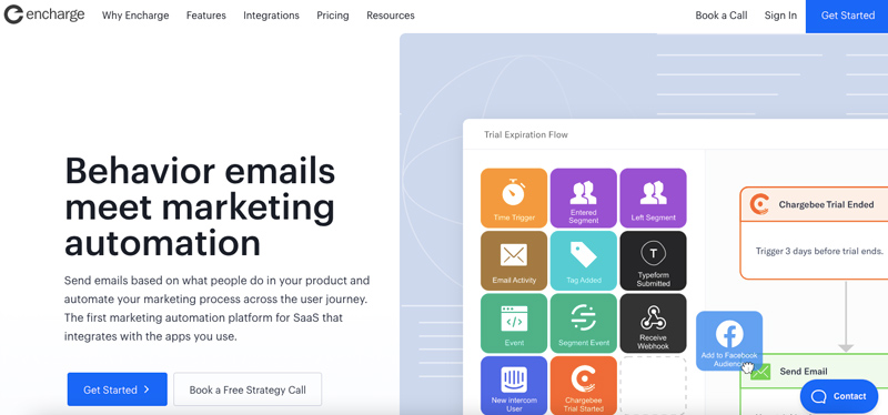 encharge email martech tool