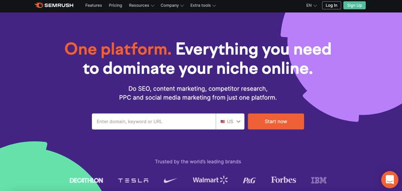 semrush seo marketing tool