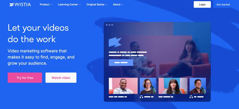 wistia video streaming marketing