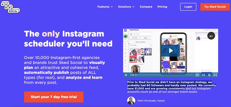 skedsocial SM marketing tool