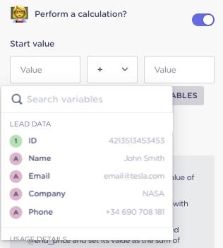 perform a calculation