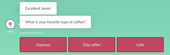 quiz bot button choice