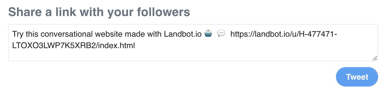 share quiz bot on twitter