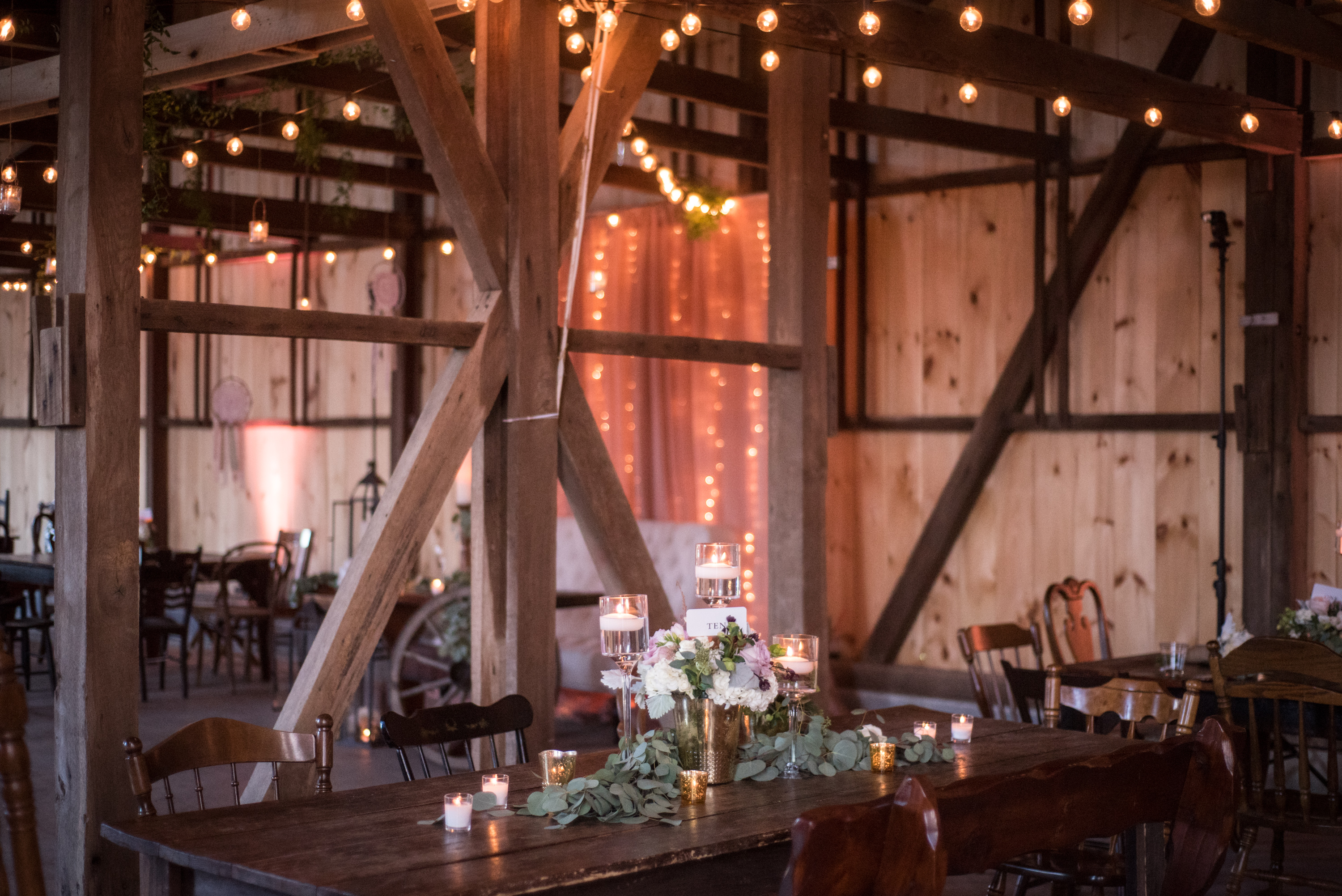 Barn at Honey's Harvest Tablescape View