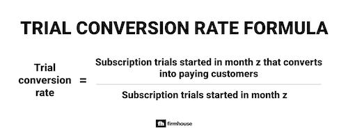 Trial Conversion Rate Formula