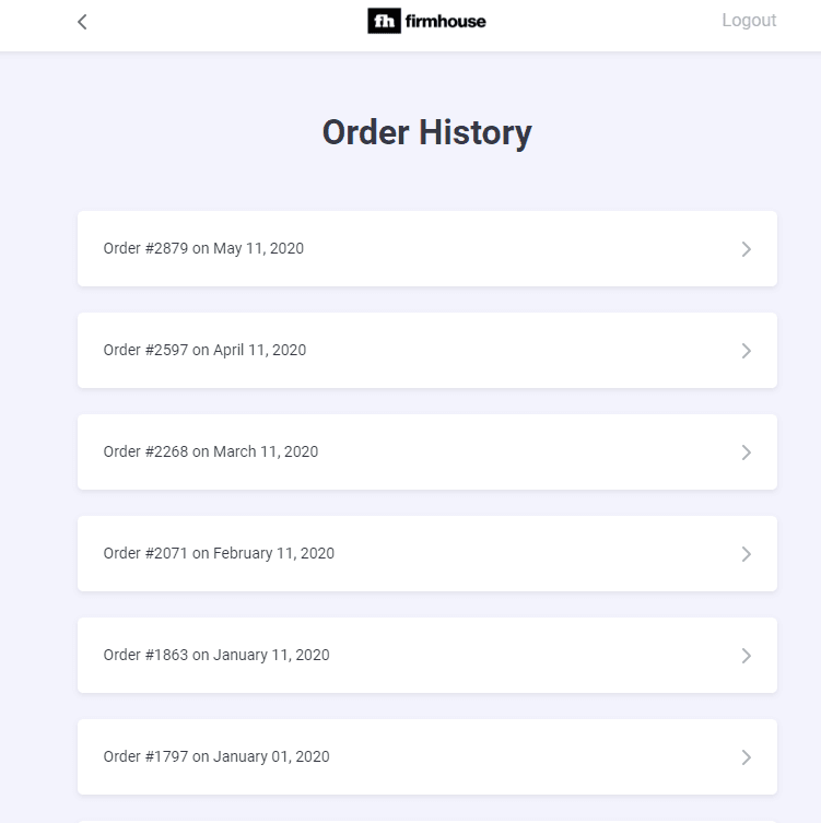 Subscription order