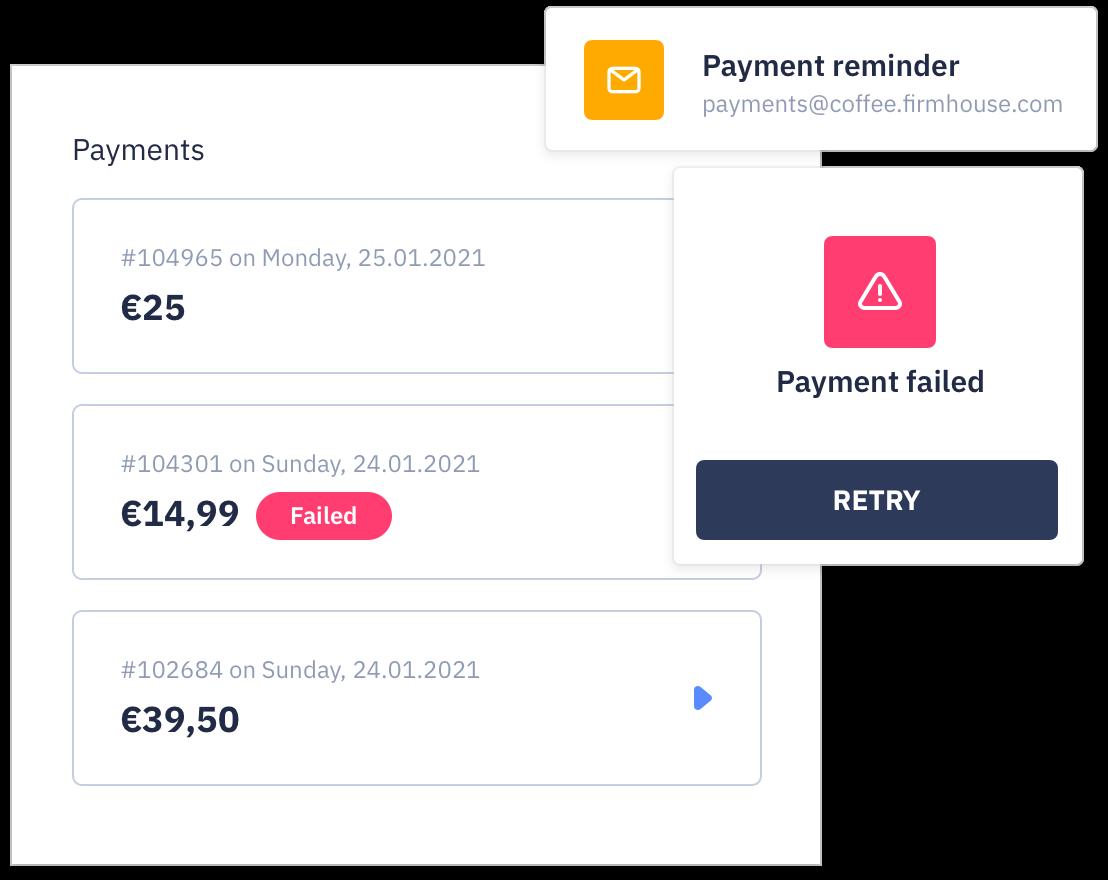 Payment mandates
