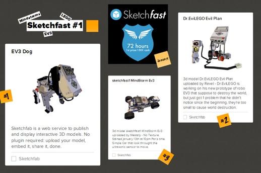 sketchfab contest