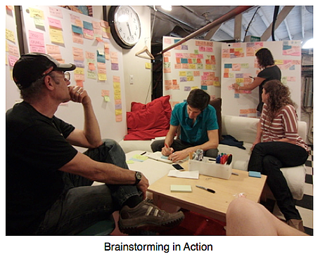 Brainstormers at work