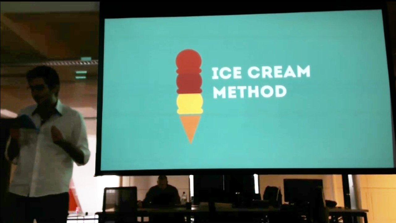 The Ice Cream Method by Team Fabio