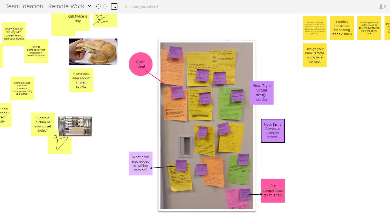 Capture Sticky Notes in MURAL