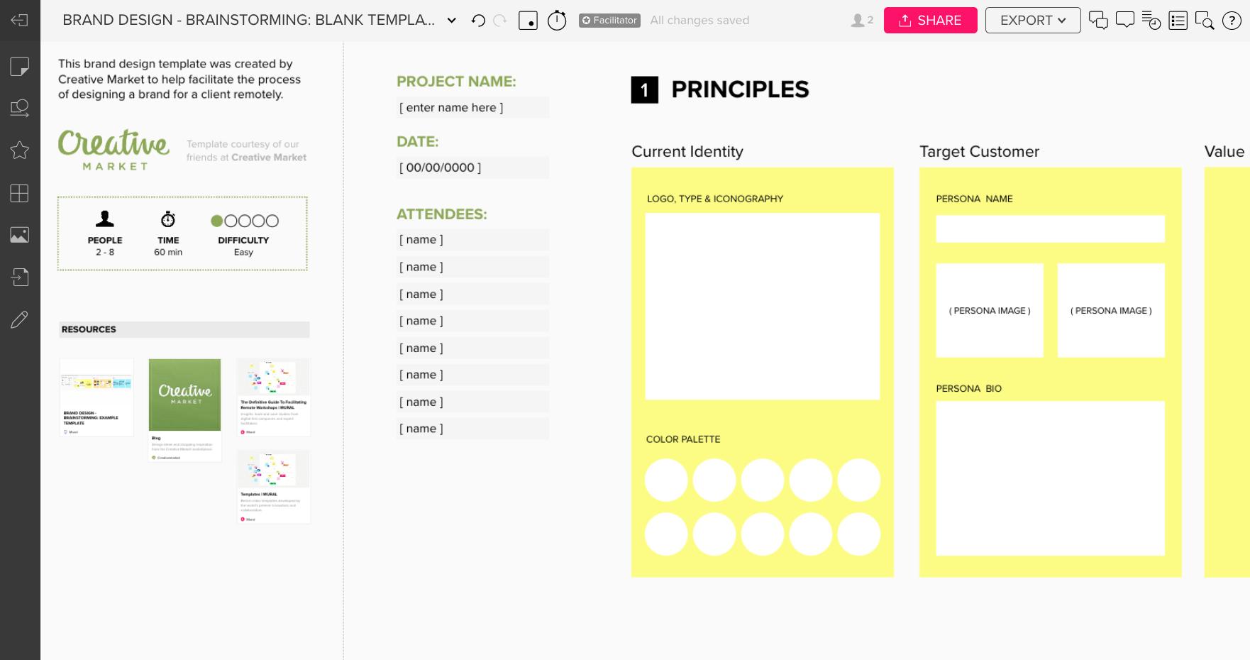 Brand Design Brainstorm
